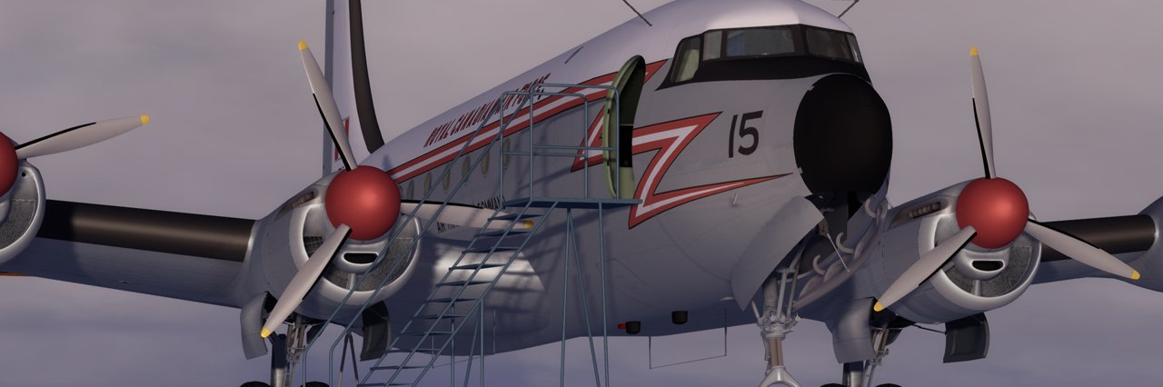 Die Canadair North Star des Sim Outhouse Forums