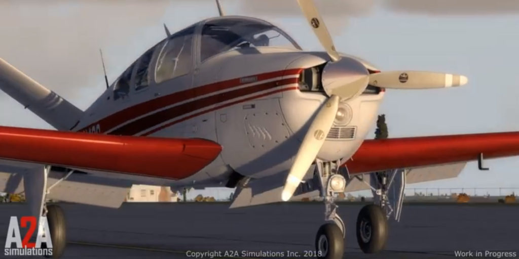 A2A Simulations Beechcraft V35 Bonanza V-Tail Previews