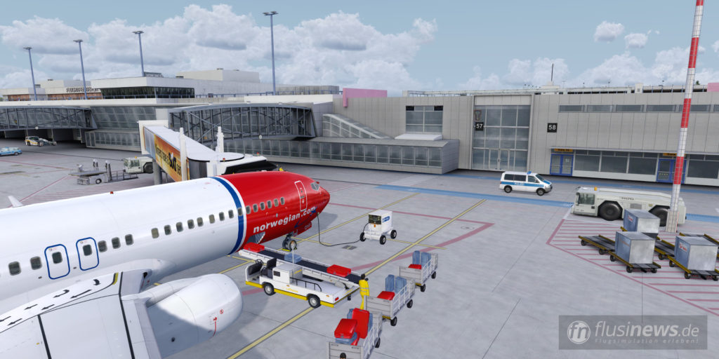Aerosoft Mega Airport Berlin-Brandenburg professional fnDE Review 03