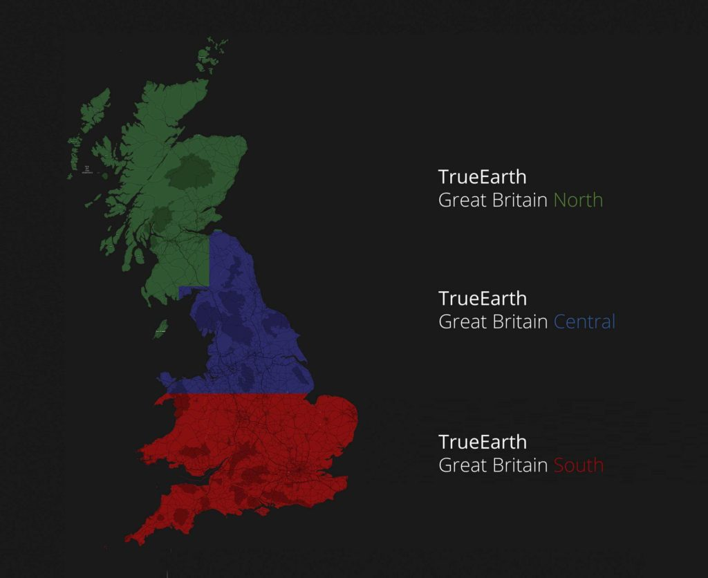Orbx TrueEarth Great Britain South Parts